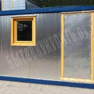 Блок-контейнер строительный СТАНДАРТ 4х2,4м