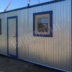 Блок-контейнер строительный РАСПАШОНКА 8×2.4м